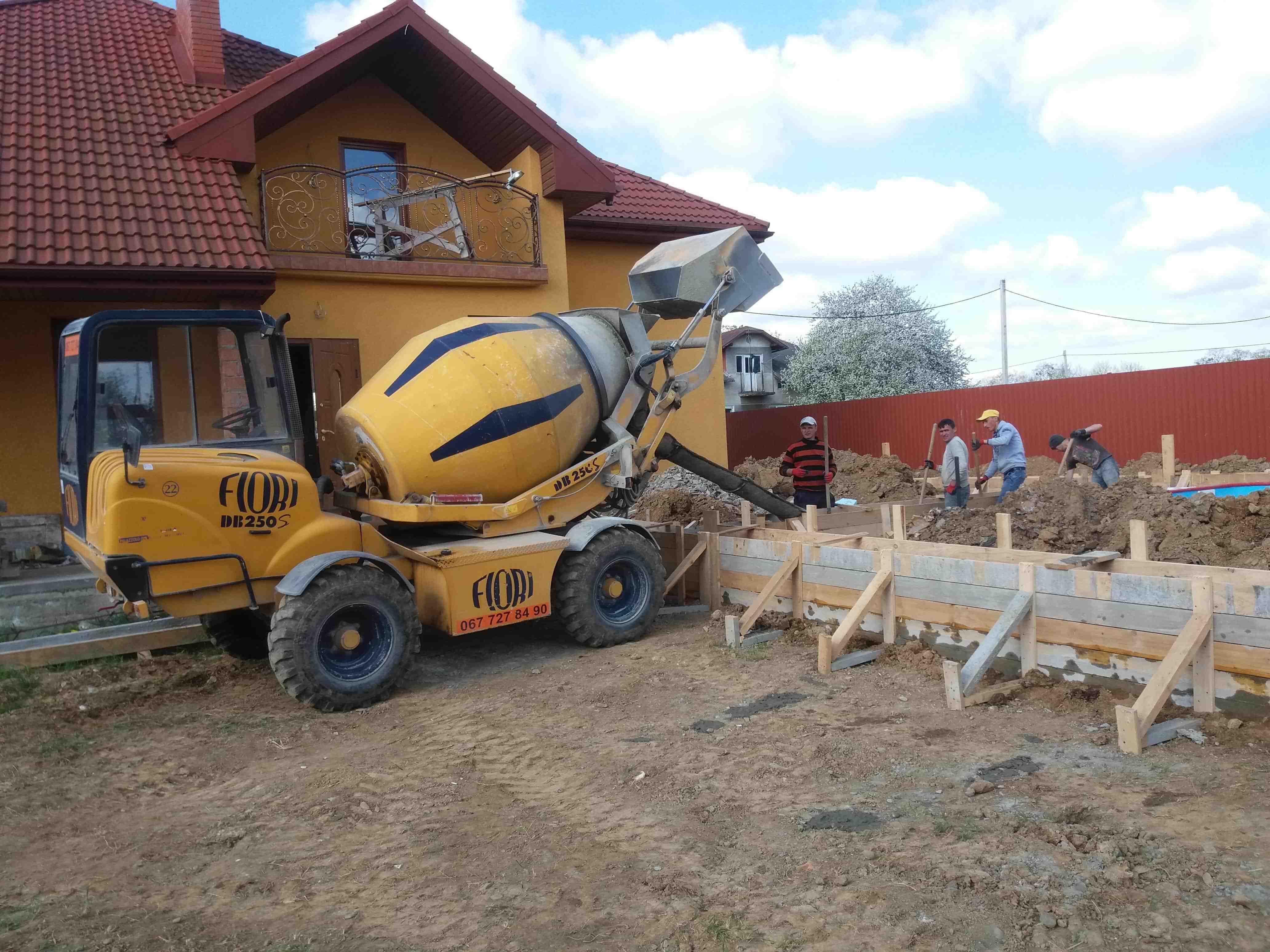 спецтехніка на будівництві